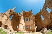 Ruïnes van de st george van de Grieken kerk. Famagusta, cyprus — Stockfoto