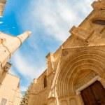 St. Nicholas Cathedral (Lala Mustafa Mosque). Famagusta, Cyprus — Stock Photo #50044973