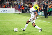 Evra of Manchester United — Stock Photo