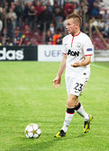 Cleverley of Manchester United — Stock Photo