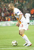 Nordin Amrabat of Galatasaray Istambul — Stock Photo