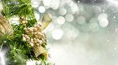 Close up on Christmas tree decoration — Stock Photo