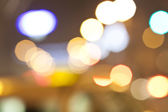 Abstract city lights — Stock Photo