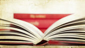 Open book - vintage photo — Photo
