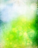 Abstract colorful spring background - vintage photo — Stock Photo