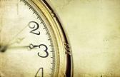 Orologio vintage dorato — Foto Stock