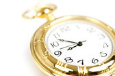 Gold pocket watch — Stock Photo