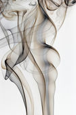 Black and brown smoke — Stock Photo