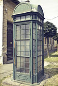 Phone booth — Stock Photo