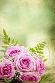 Photo of pink wedding bouquet — Stock Photo