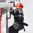 Firefighter in action — Stock Photo #49021693