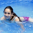 Stock Photo: Swimming girl