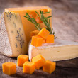 Various types of cheese — Stock Photo #12777143