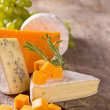 Various types of cheese — Stock Photo #12777144