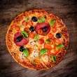 Tasty Italian pizza — ストック写真