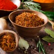 Assorted spices - Foto Stock