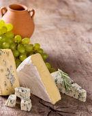 Différents types de fromage — Photo