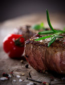 Bife grelhado para churrasco — Foto Stock