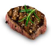 Gegrillte bbq-steak — Stockfoto