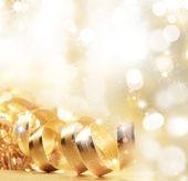 クリスマス リボン — ストック写真