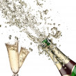 Champagne explosion — Stock Photo #13855269