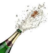 Explosão de champanhe — Foto Stock