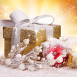 Christmas gifts - Stockfoto