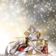 Christmas gifts — Stock Photo #14334785