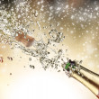 Champagne explosion — Stock Photo #14335041