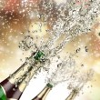 Champagne explosion — Stock Photo #14335371
