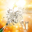 Champagne explosion — Stock Photo #15446479