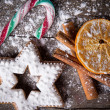 Traditional gingerbread cookies - Foto de Stock