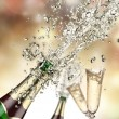 Champagne explosion — Stock Photo #15448063