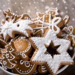 Traditional gingerbread cookies — Stock Photo #15758545