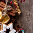 Christmas still life — Stockfoto #15758571