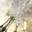 Royalty-Free Stock Photo: Champagne explosion
