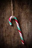 Christmas lolipop — Stock Photo