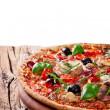 Delicious italian pizza — Stock Photo #20320981