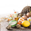 Colorful easter eggs — Stock Photo #20758195