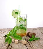 Mojito cocktails — Stock Photo