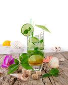 Cocktail mojito — Fotografia Stock