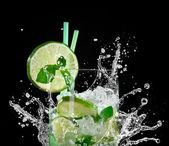 Mojito cocktail — Fotografia Stock