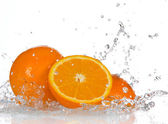 πορτοκαλί φρούτα — Φωτογραφία Αρχείου