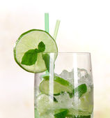 Mojito cocktail — Stockfoto