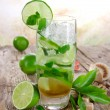 Mojito cocktail — Stock Photo #22627287
