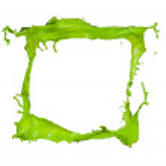 Colored paint splash — Stock Photo #22627841