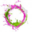 Colored paint splash — Stock Photo #22628121