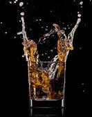 Viski ile cam — Stok fotoğraf