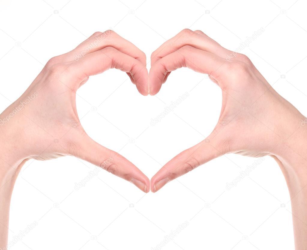 Как знаками сделать сердечко