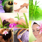 Spa and relax collection — Stock Photo
